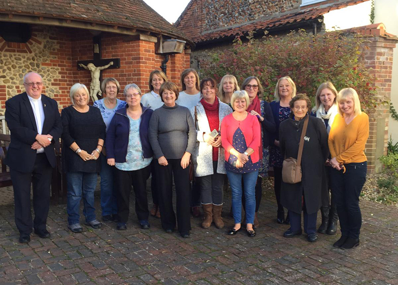 Parishioners from St. Andrew's Parish attended Walsingham with the 2018 Diocsean pilgrimage