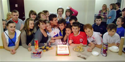 youth club second anniversary