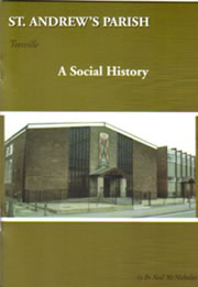 Front cover of parish book