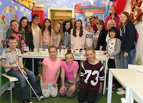 Visit by Youth club members to Hipo-pot-a-mess