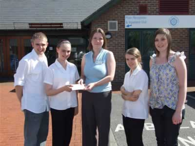 Youth Cabinet members raise money for Teesside Hospice