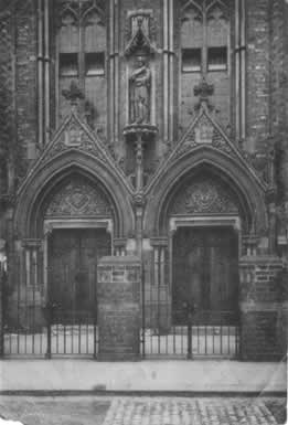 The magnificent entrance to St. Mary's, Grangetown