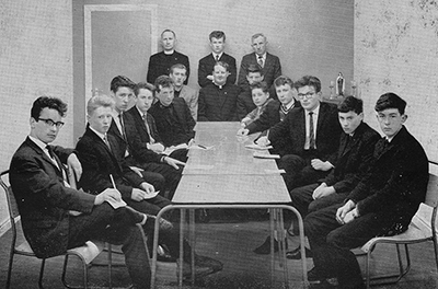 The boys section of YCW in 1963